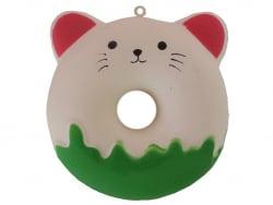 Acheter Squishy Donut Chat - vert et rose - 8,49€ en ligne sur La Petite Epicerie - 100% Loisirs créatifs