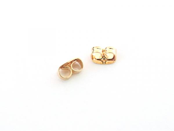 Acheter Paire de fermoirs papillon - dorée à l'or fin - 0,59€ en ligne sur La Petite Epicerie - Loisirs créatifs