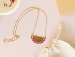 Acheter Collier Sophie - Kit bijoux précieux dorés à l'or fin - 9,90€ en ligne sur La Petite Epicerie - 100% Loisirs créatifs