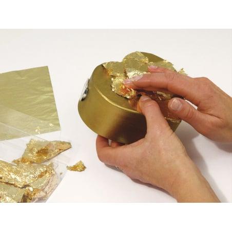Acheter 5 feuilles de métal - doré - 4,75€ en ligne sur La Petite Epicerie - 100% Loisirs créatifs