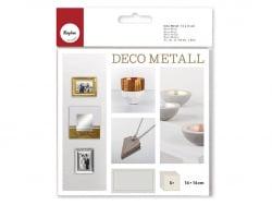 Acheter 5 feuilles de métal - doré - 4,75€ en ligne sur La Petite Epicerie - Loisirs créatifs