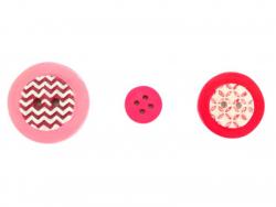 Acheter Moule en silicone - Boutons géométriques - 5,10€ en ligne sur La Petite Epicerie - 100% Loisirs créatifs