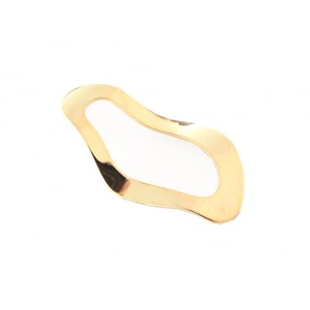 Acheter Pendentif ovale évidé et ondulé - 4 cm - 2,79€ en ligne sur La Petite Epicerie - 100% Loisirs créatifs