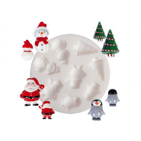 Acheter Moule en silicone - Noël - 5,10€ en ligne sur La Petite Epicerie - 100% Loisirs créatifs