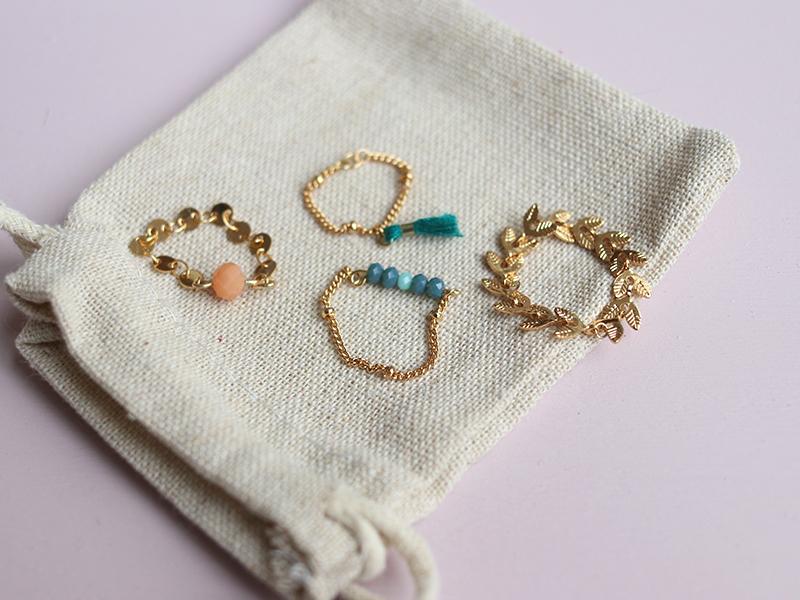 Acheter Bagues Sophie - Kit bijoux précieux dorés à l'or fin - 13,90€ en ligne sur La Petite Epicerie - 100% Loisirs créatifs