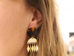 Acheter Boucles d'oreilles Laura - Kit bijoux précieux dorés à l'or fin - 21,90€ en ligne sur La Petite Epicerie - 100% Lois...