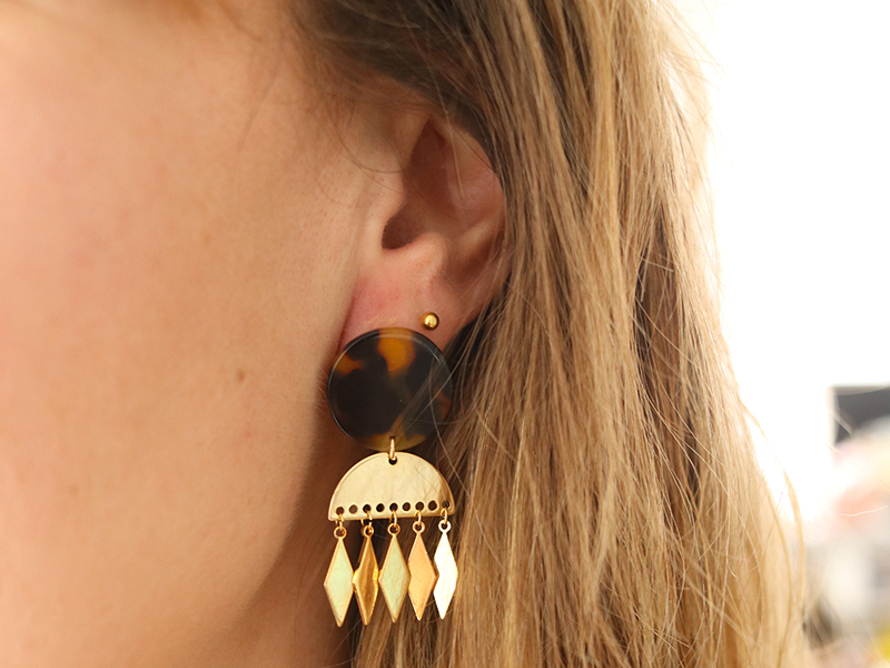 Acheter Boucles d'oreilles Laura - Kit bijoux précieux dorés à l'or fin - 21,90€ en ligne sur La Petite Epicerie - Loisirs c...