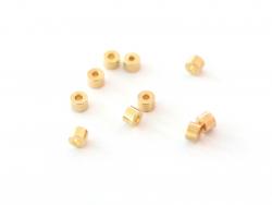 Acheter Lot de 10 perles colonne 2 mm - doré à l'or fin 18K - 1,89€ en ligne sur La Petite Epicerie - Loisirs créatifs