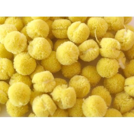 Acheter Pompon jaune citron - 15 mm - 0,10€ en ligne sur La Petite Epicerie - Loisirs créatifs