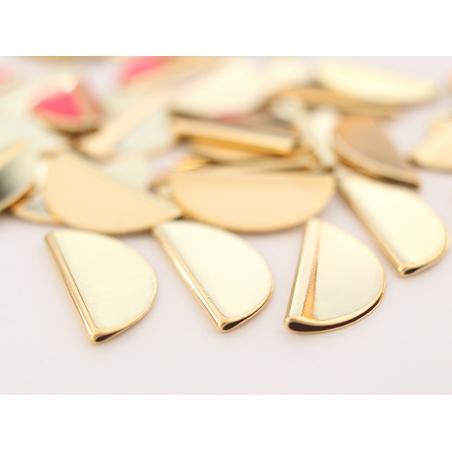 Acheter Perle demi-cercle - dorée à l'or fin - 1,59€ en ligne sur La Petite Epicerie - 100% Loisirs créatifs