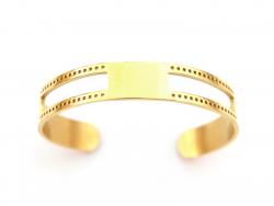 Acheter Bracelet manchette dorée - double tissage pour perles miyuki - 7,90€ en ligne sur La Petite Epicerie - 100% Loisirs ...