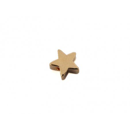 Acheter Perle étoile - dorée à l'or fin 18K - 0,49€ en ligne sur La Petite Epicerie - Loisirs créatifs