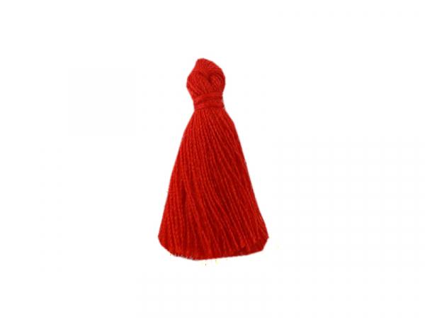 Acheter Pompon en coton - rouge - 0,49€ en ligne sur La Petite Epicerie - Loisirs créatifs