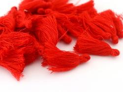 Acheter Pompon en coton - rouge - 0,49€ en ligne sur La Petite Epicerie - 100% Loisirs créatifs