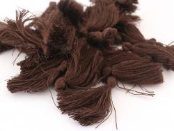 Acheter Pompon en coton - marron - 0,49€ en ligne sur La Petite Epicerie - Loisirs créatifs