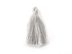 Acheter Pompon en coton - gris - 0,49€ en ligne sur La Petite Epicerie - 100% Loisirs créatifs