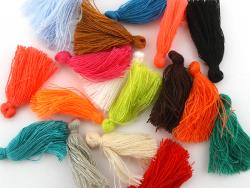 Acheter Pompon en coton - orange fluo - 0,49€ en ligne sur La Petite Epicerie - Loisirs créatifs