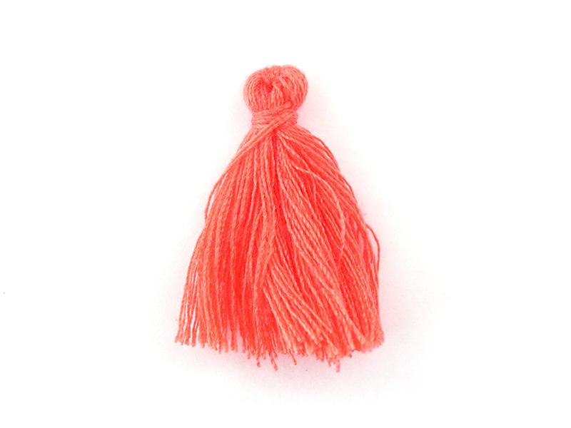 Acheter Pompon en coton - rose corail - 0,49€ en ligne sur La Petite Epicerie - 100% Loisirs créatifs