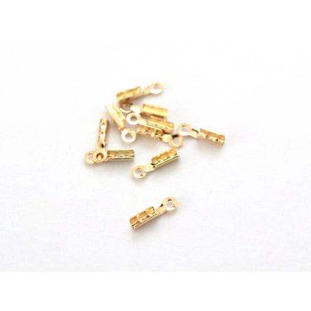 Acheter Lot de 10 serre-fils - dorés à l'or fin - 1,29€ en ligne sur La Petite Epicerie - Loisirs créatifs
