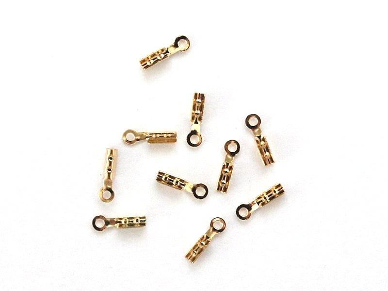 Acheter Lot de 10 serre-fils - dorés à l'or fin - 1,29€ en ligne sur La Petite Epicerie - 100% Loisirs créatifs