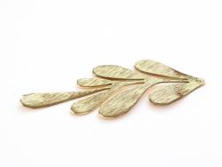 Acheter Pendentif végétal - doré à l'or fin - 2,79€ en ligne sur La Petite Epicerie - 100% Loisirs créatifs