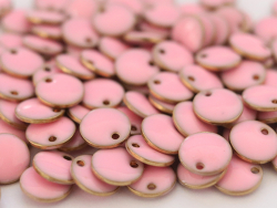 Acheter Breloque ronde émaillée - rose clair - 0,59€ en ligne sur La Petite Epicerie - Loisirs créatifs