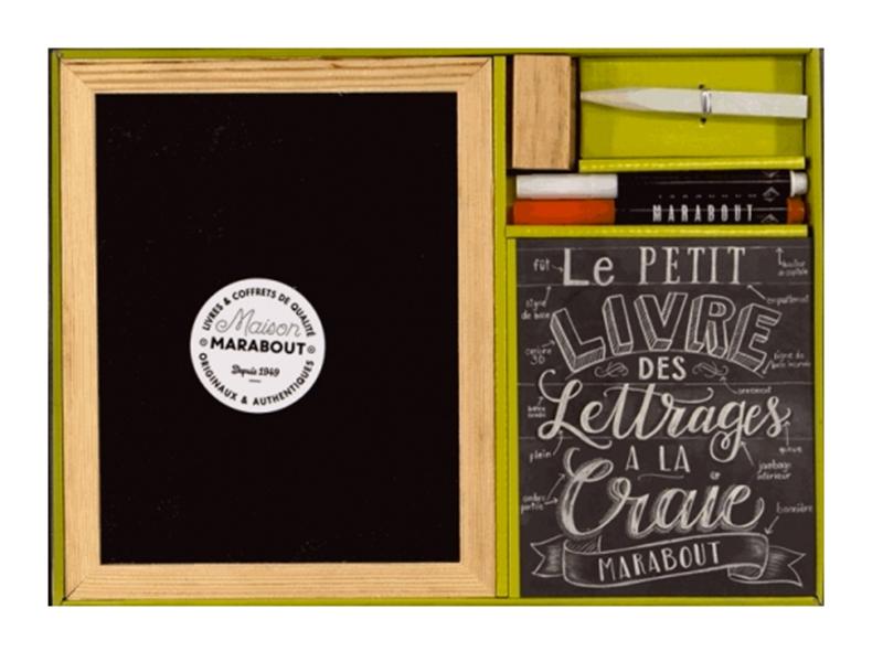 Acheter Livre coffret - Le petit livre des lettrages à la craie - 16,90€ en ligne sur La Petite Epicerie - 100% Loisirs créa...