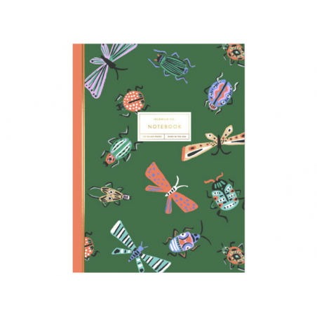 Acheter Carnet A5 - Insectes - 12,99€ en ligne sur La Petite Epicerie - Loisirs créatifs