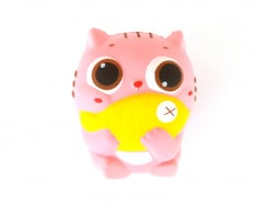 Squishy Chat et poisson
