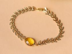 Bracelet Marion jaune - Kit...