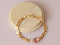 Bracelet Marion rose - Kit...