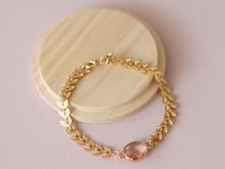 Acheter Bracelet Marion rose - Kit bijoux précieux dorés à l'or fin - 13,90€ en ligne sur La Petite Epicerie - Loisirs créatifs