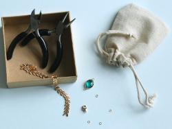 Bracelet Marion vert - Kit...