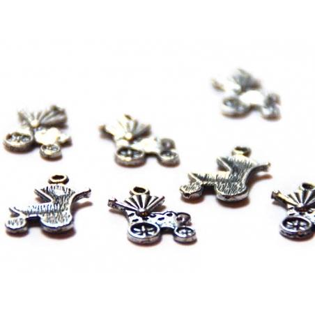 Acheter 1 Breloque poussette - argentée - 0,49€ en ligne sur La Petite Epicerie - Loisirs créatifs