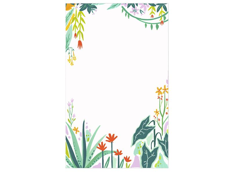 Acheter Bloc-notes - Jardin Tropical - 7,99€ en ligne sur La Petite Epicerie - Loisirs créatifs