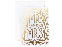 Carte - Mr. & Mrs.