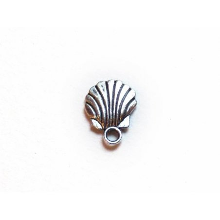 Acheter 1 Breloque coquille St Jacques / argenté foncé - 0,19€ en ligne sur La Petite Epicerie - Loisirs créatifs