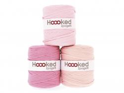 Acheter Grande bobine de fil Hoooked Zpagetti - Nuances de rose clair - 11,90€ en ligne sur La Petite Epicerie - Loisirs cré...