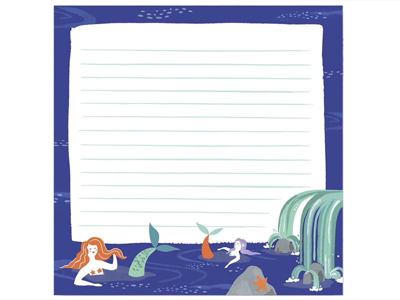 Acheter Bloc-notes XXL - Sirènes - 10,89€ en ligne sur La Petite Epicerie - Loisirs créatifs