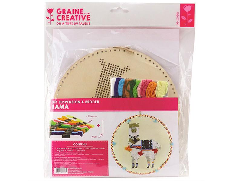 Acheter Kit suspension à broder - Lama - 11,99€ en ligne sur La Petite Epicerie - Loisirs créatifs