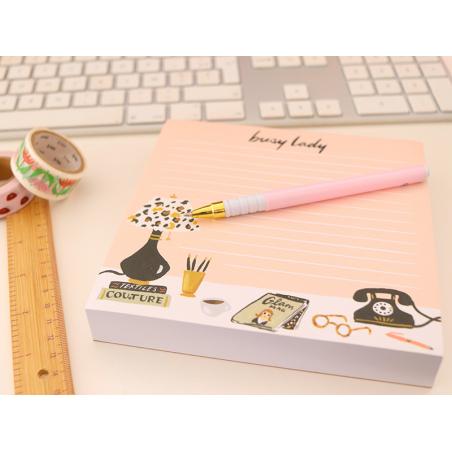 Acheter Bloc-notes XXL - Busy Lady - 10,89€ en ligne sur La Petite Epicerie - Loisirs créatifs