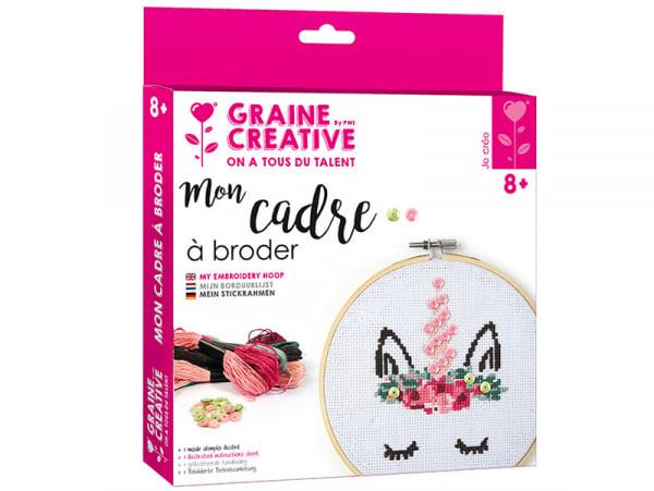 Acheter Kit Mon cadre à broder- Licorne - 14,99€ en ligne sur La Petite Epicerie - Loisirs créatifs