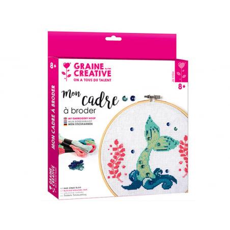 Acheter Kit Mon cadre à broder - Sirène - 16,99€ en ligne sur La Petite Epicerie - Loisirs créatifs