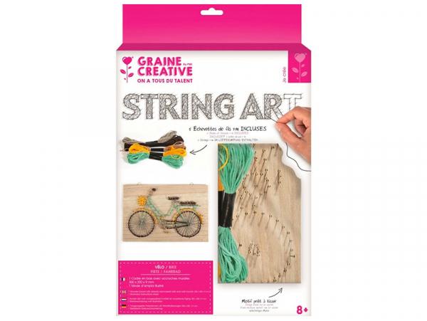 Acheter Kit string - tableau artistique vélo - 13,99€ en ligne sur La Petite Epicerie - 100% Loisirs créatifs