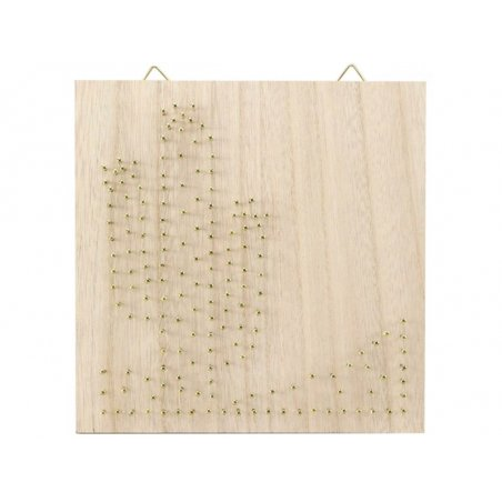 Acheter Kit string - tableau artistique cactus - 12,99€ en ligne sur La Petite Epicerie - Loisirs créatifs