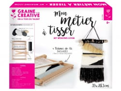 Acheter Kit découverte métier à tisser rectangle - 26,99€ en ligne sur La Petite Epicerie - Loisirs créatifs