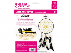 Acheter Kit Attrape-rêve en créacord - nuit - 12,99€ en ligne sur La Petite Epicerie - 100% Loisirs créatifs