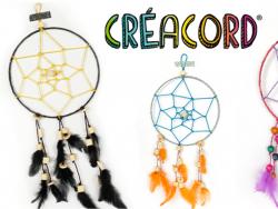 Acheter Kit Attrape-rêve en créacord - nuit - 12,99€ en ligne sur La Petite Epicerie - Loisirs créatifs