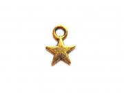 1 Breloque petite étoile - dorée