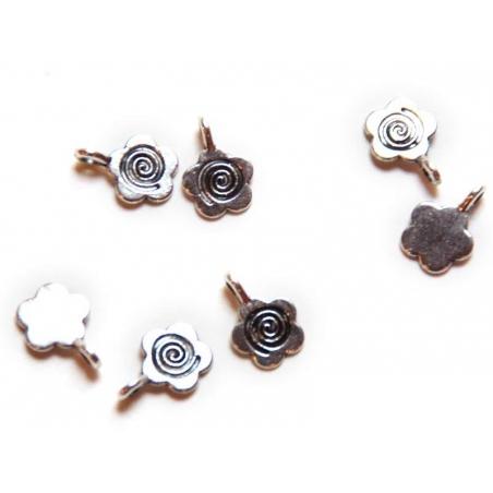 Acheter 1 Breloque fleur 60's - argentée - 0,49€ en ligne sur La Petite Epicerie - Loisirs créatifs
